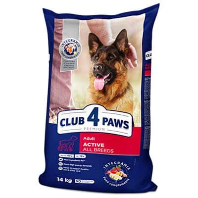 4 paws dog food