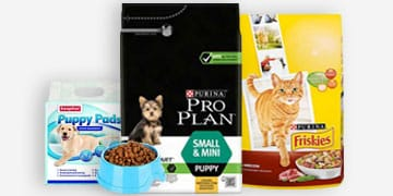 dog and cat food bundle